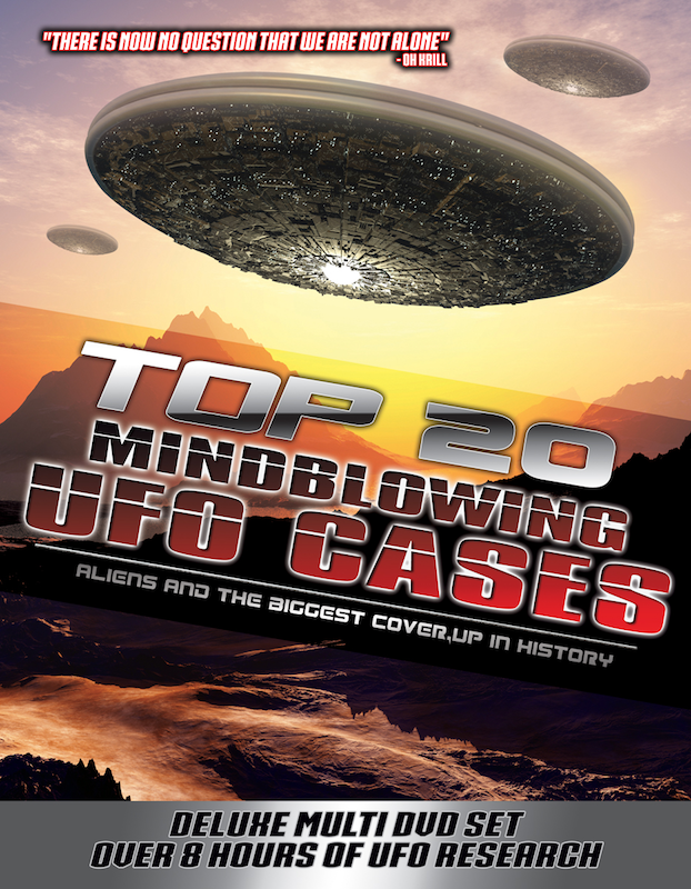 Top 20 Mind Blowing UFO Cases: Aliens and the Biggest Cover-up in History